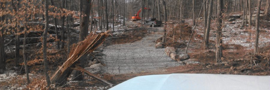 Driveway Install - Old Lyme, CT