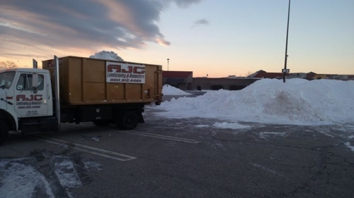Snow Removal - Crystal Mall - Waterford, CT