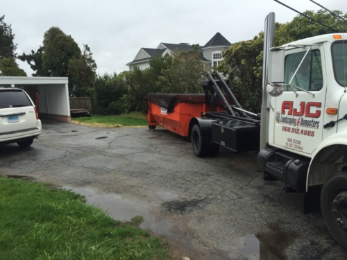 Dumpster Donation for ALS - Mystic, CT